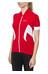 Gonso Febe Kortärmad cykeltröja röd